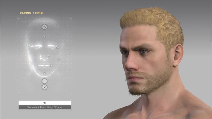 MGSV Character
